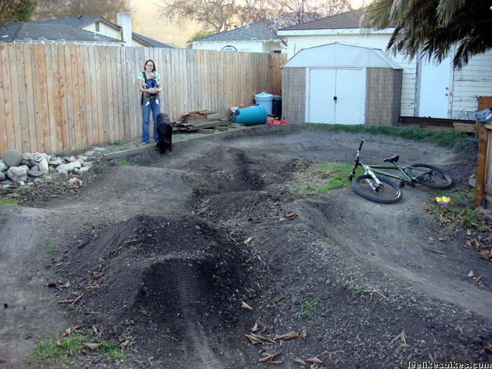 Backyard Pump Track Designs : my pump track is no more sob but pump track