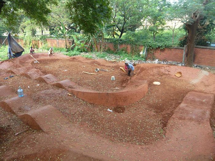 Backyard Bmx Pump Track : JAKARTA PUMP TRACK STEEPER BERMS?