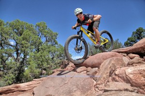 Coach Kevin stoked to be coaching in Moab, UT.