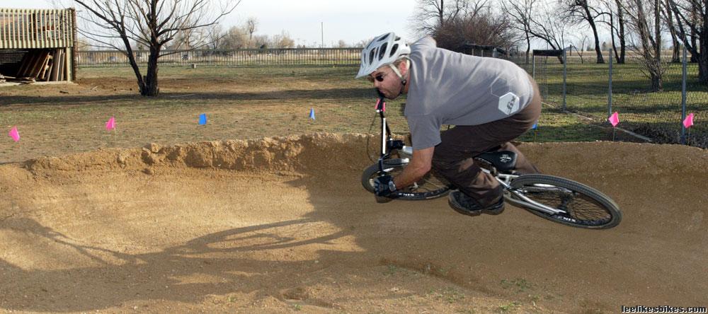 Pump tracks: 180-degree berm radii? – Lee Likes Bikes