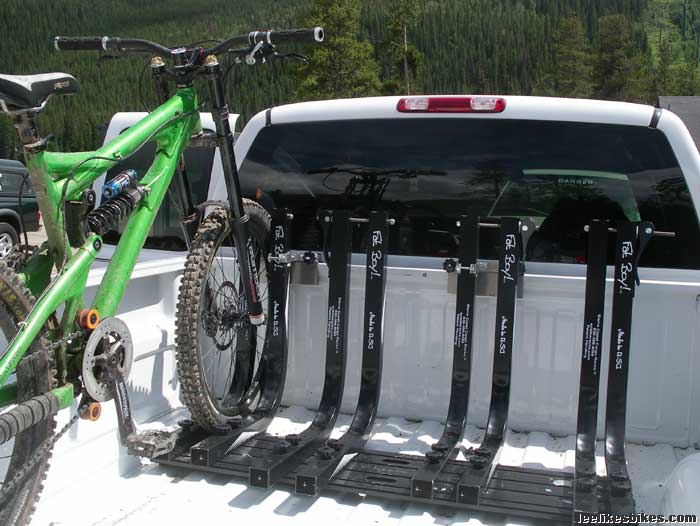 I M Looking For The Ultimate Truck Bed Bike Rack Need Something To Haul 3 Or 4 Bikes In Of No Pers And Would Like