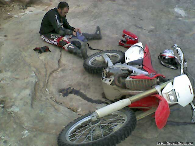 honda crfx modifications lee likes bikes