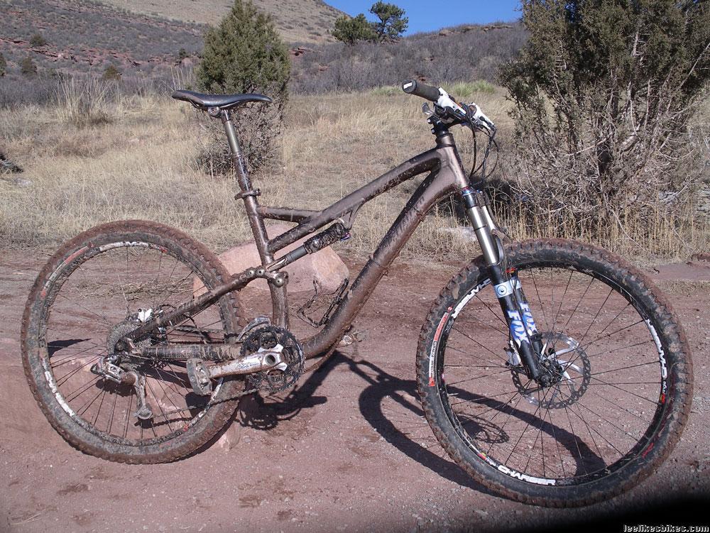First Ride 2010 Stumpjumper Pro M5 Lee Likes Bikes